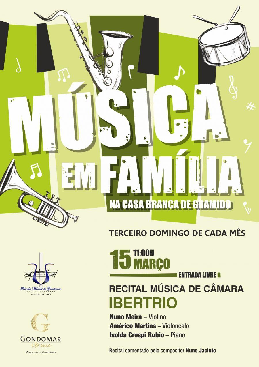 Concerto de Música de Câmara pelo IBERTRIO