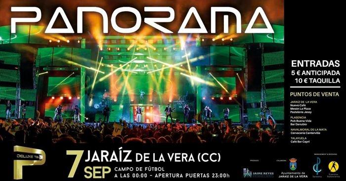 Orquesta Panorama en Extremadura