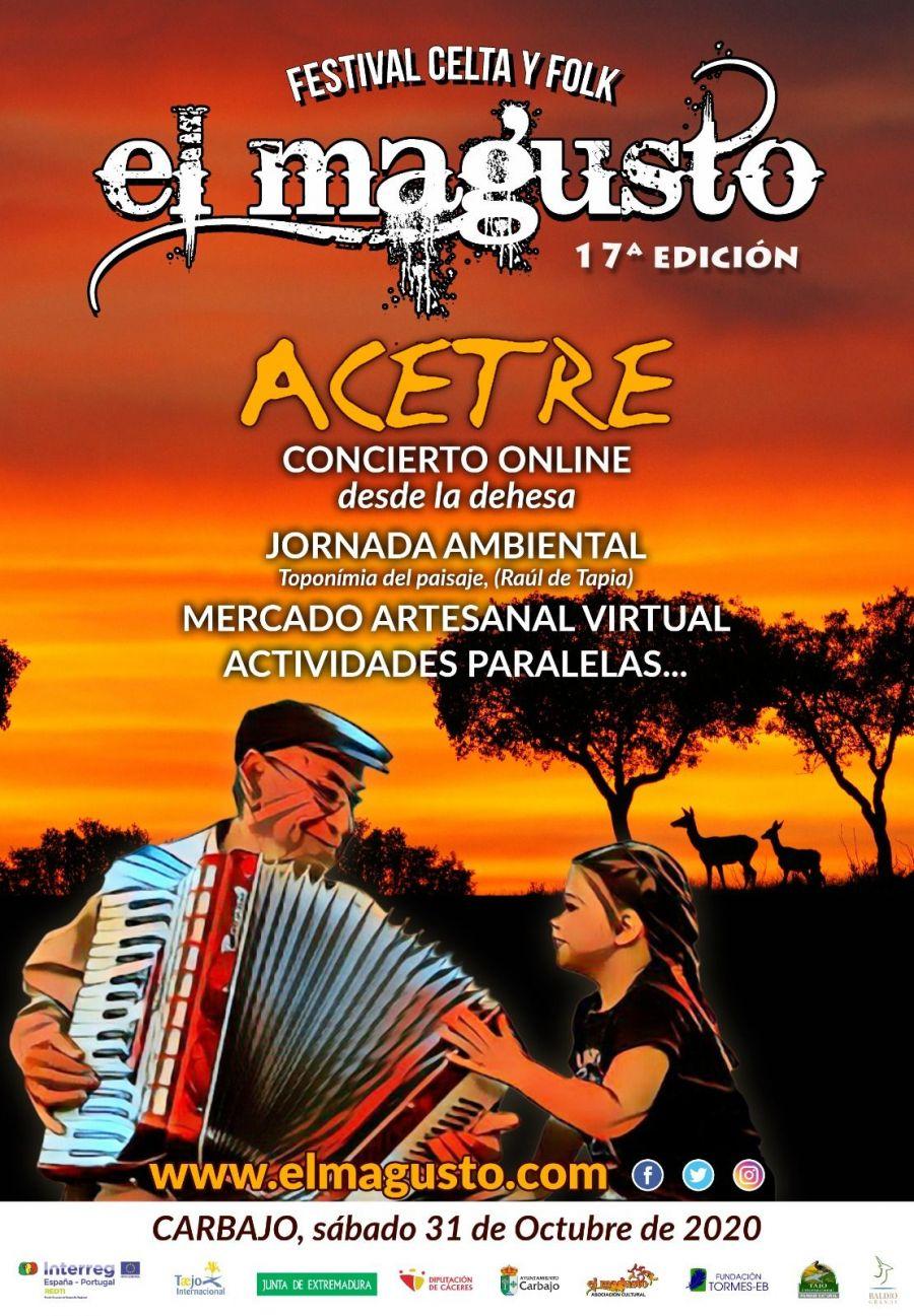 XVII FESTIVAL EL MAGUSTO - EDICIÓN ONLINE