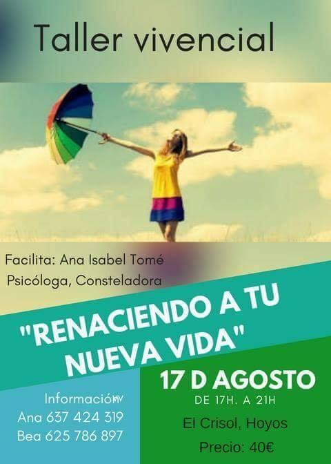 'Renaciendo a tu nueva vida' || Taller Vivencial || HOYOS