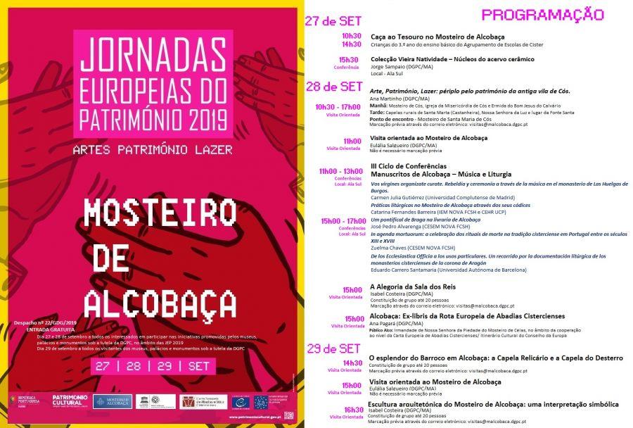 Mosteiro de Alcobaça | Jornadas Europeias do Património 2019
