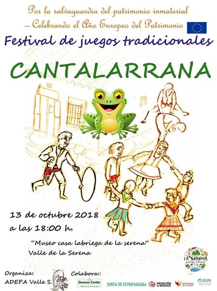 Cantalarrana: Festival de juegos tradicionales infantiles