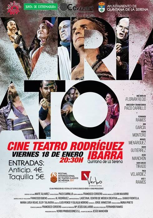 Teatro 'Viriato', de Florián Recio | Teatro Rodríguez Ibarra