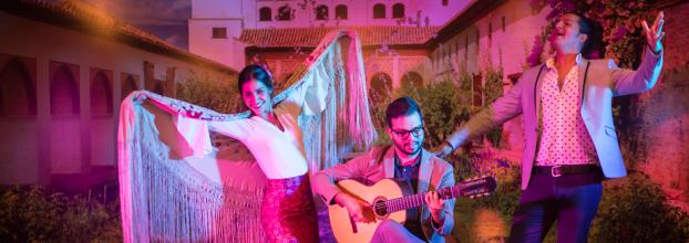 El sábado más flamenco de la historia. Castañuelas, guitarra y cante