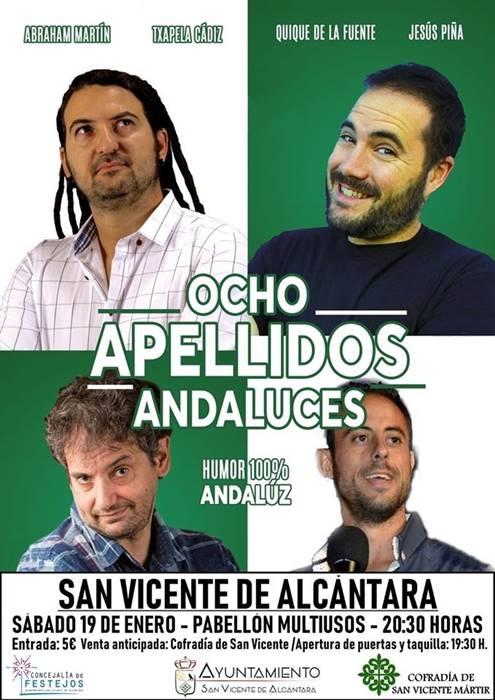 OCHO APELLIDOS ANDALUCES - Monólogos