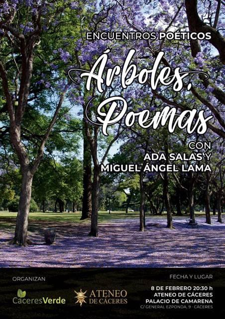 Ada Salas y Miguel Ángel Lama || Ateneo de Cáceres