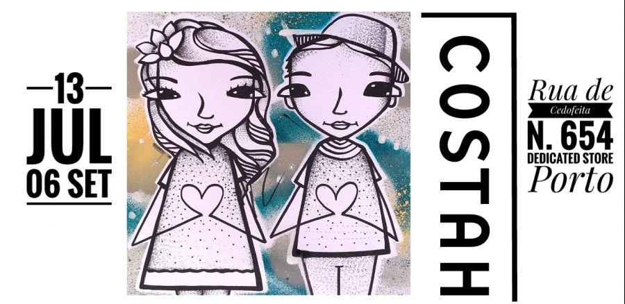 Street Art exhibition - Costah