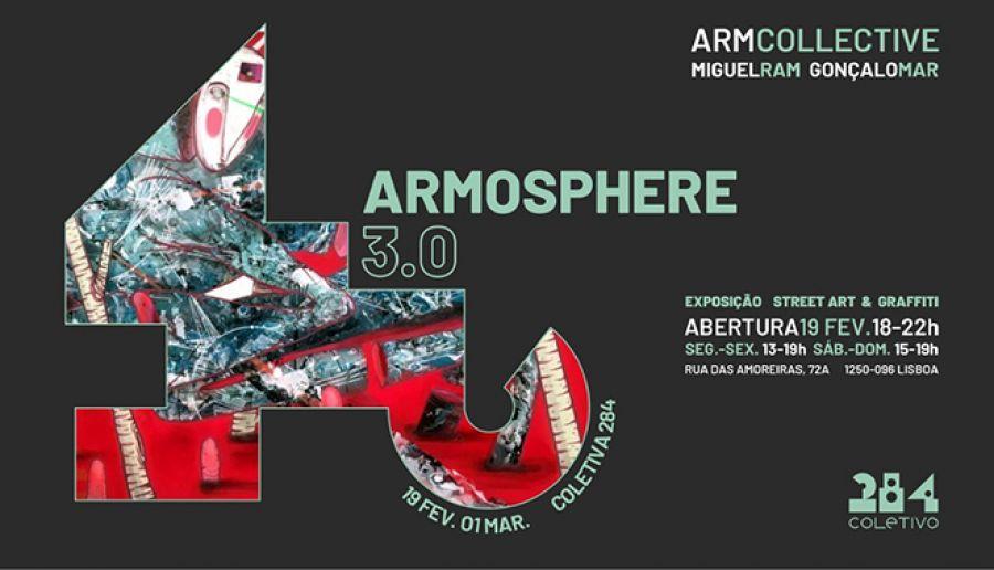 Exposição de Street Art & Graffiti com os ARM Collective no Coletivo 284
