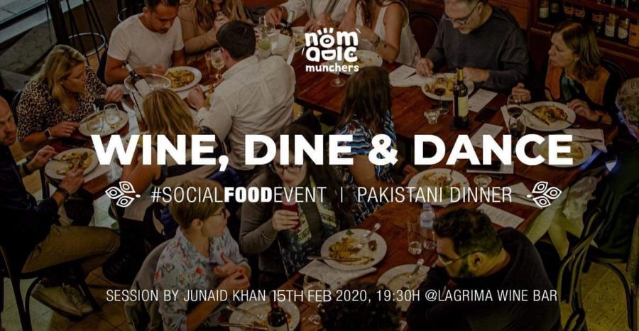 Wine, Dine & Dance