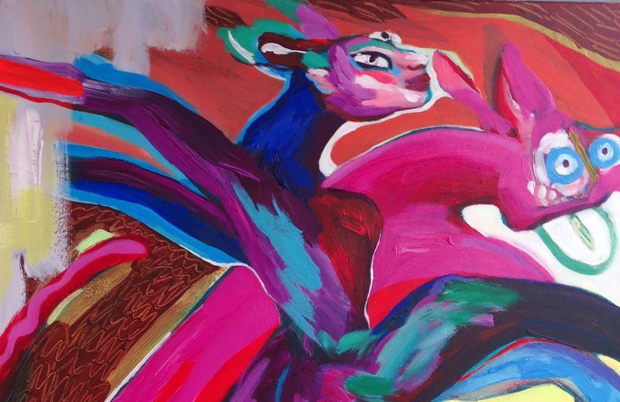 Eye-vo-re / Exposição da artista plástica Mariana Barrote
