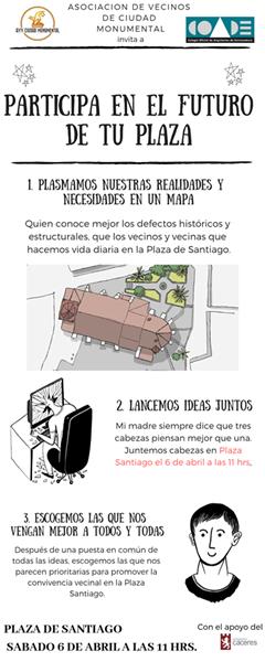 PARTICIPA EN EL FUTURO DE LA PLAZA DE SANTIAGO