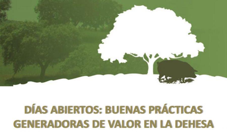 Días abiertos: buenas prácticas generadoras de valor en la dehesa. 12 y 19 de noviembre. Mérida-Parque Natural de Cornalvo