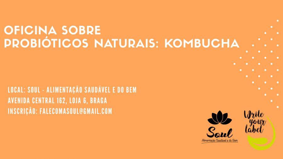 Workshop sobre probióticos: KOMBUCHA