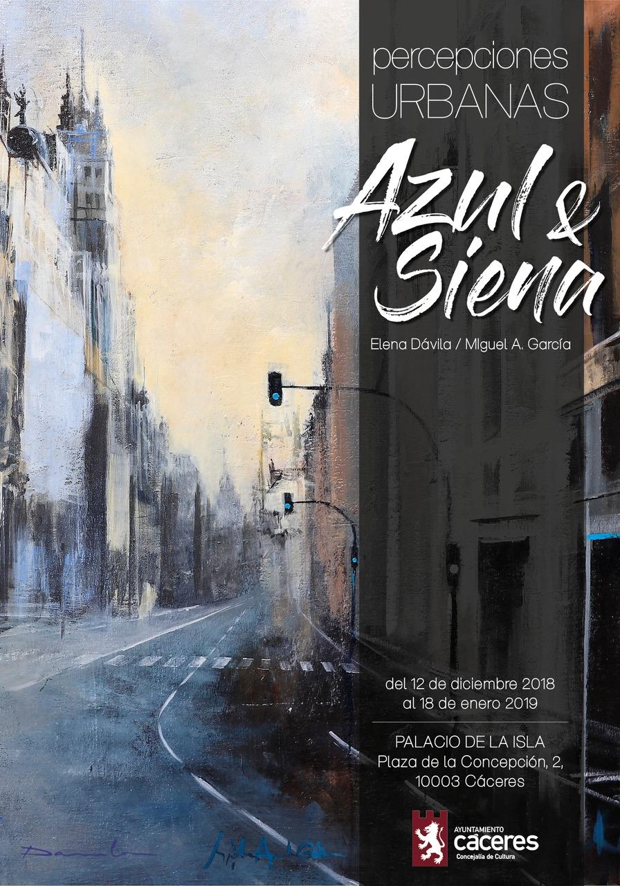 Exposición | Percepciones Urbanas AZUL Y SIENA