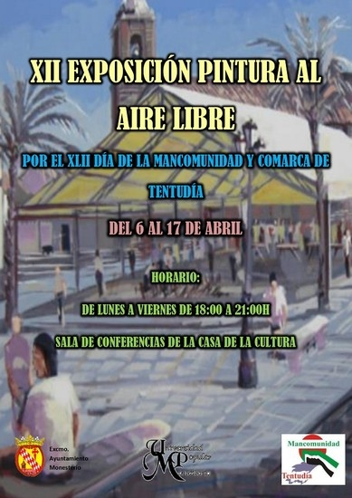 XII EXPOSICIÓN DE PINTURA AL AIRE LIBRE´ EN MONESTERIO