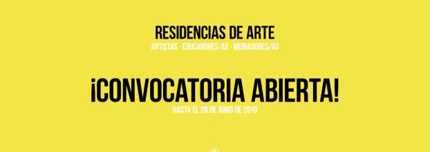 Residencias de arte en lo rural · 2019