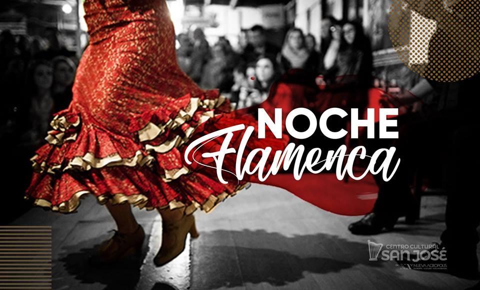 Noche flamenca. Ingrid Rojas & Luis Fernando Aguilar. Baile y guitarra
