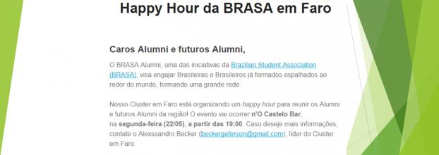 I Happy Hour da BRASA Alumni em Faro