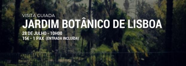 Visita Guiada - Jardim Botânico de Lisboa