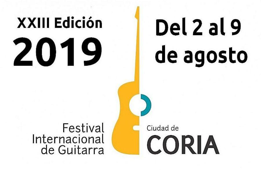 Festival Internacional de guitarra Ciudad de Coria 2019