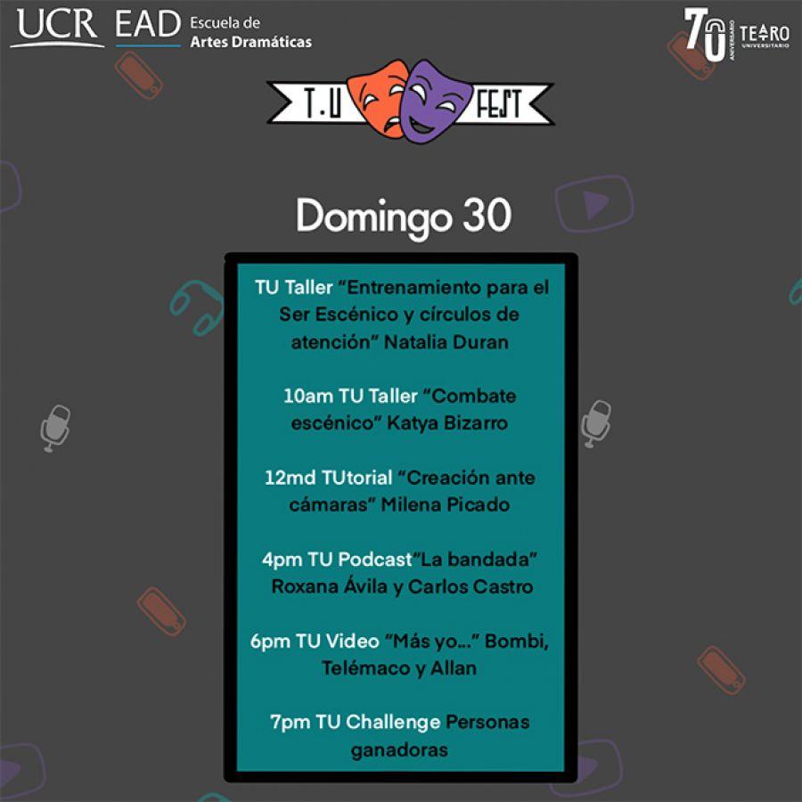 TU Festival Virtual. Día 4