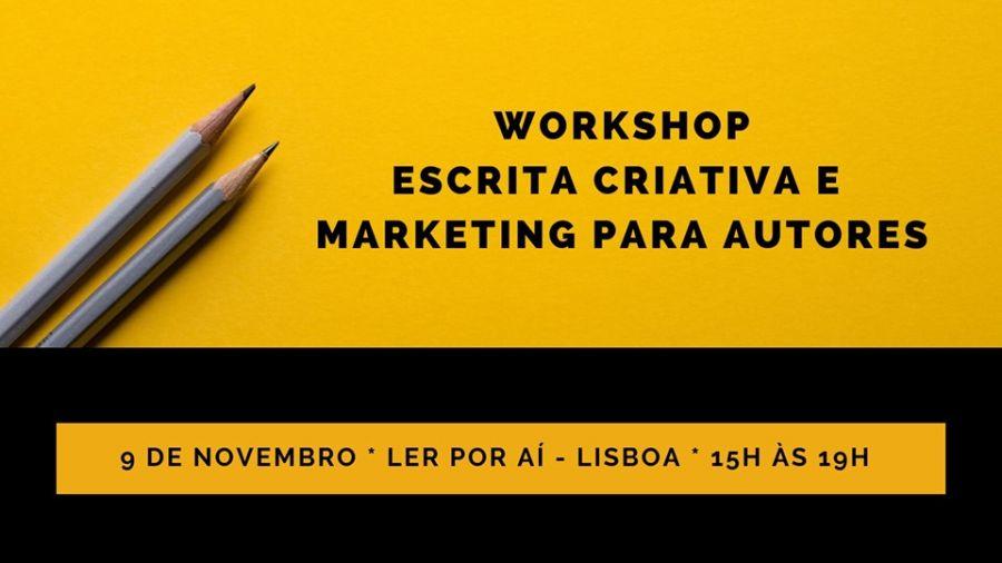 Workshop de escrita criativa e marketing digital para autores