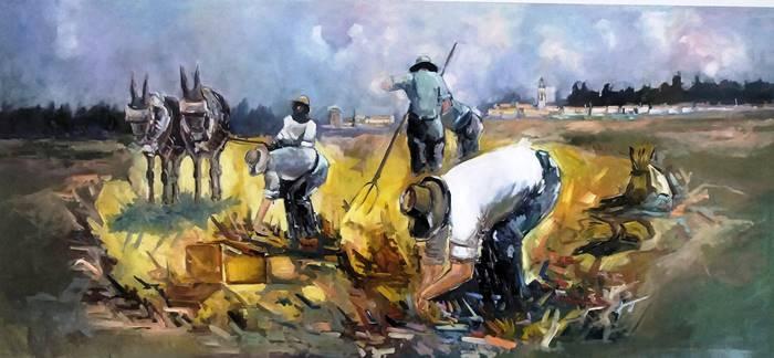 Exposición Mar y Tierra, de Pedro Castaño Gallardo || Olivenza