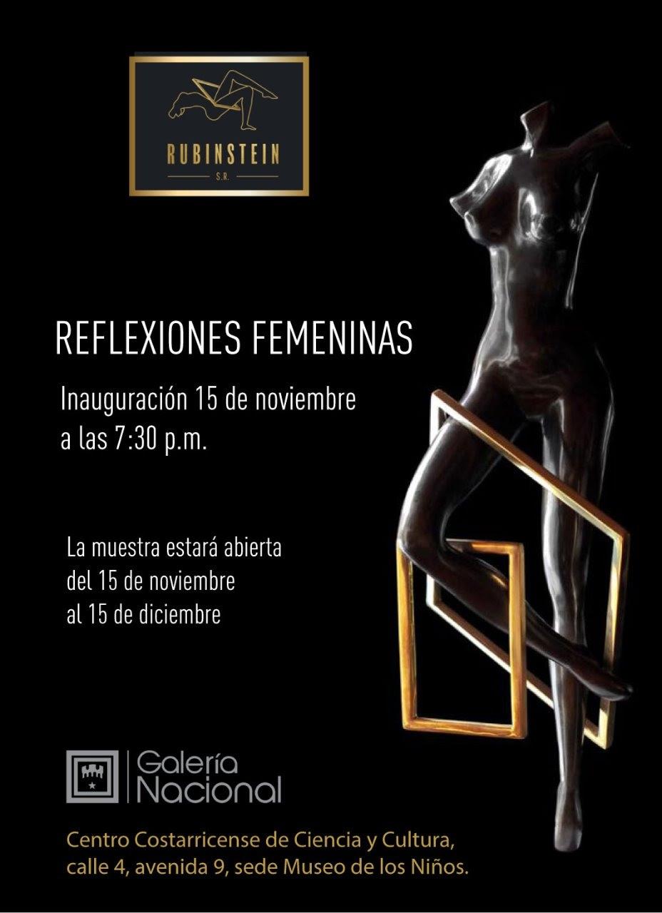 Reflexiones femeninas. Rubinstein. Escultura