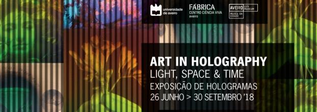 Exposição de Holografia 'Art in Holography: Light, space & time'