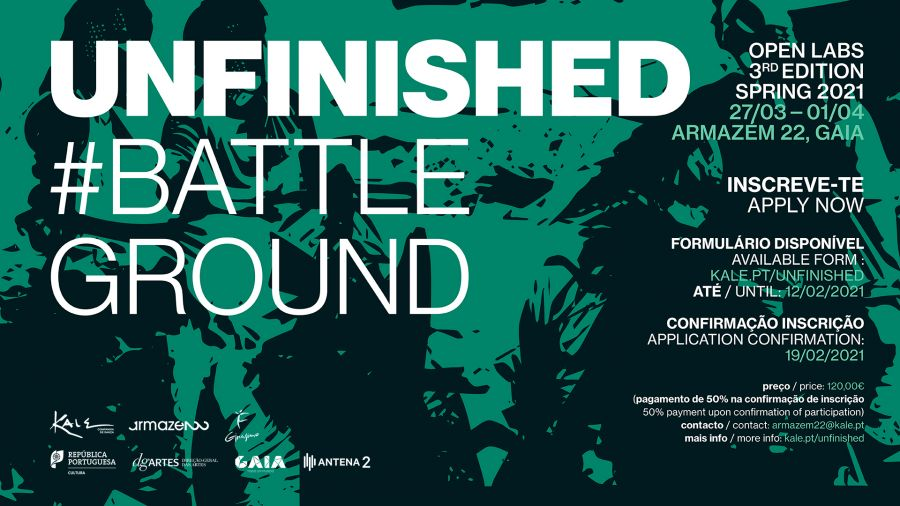 Abertas as candidaturas para o Unfinished #BattleGround OpenLabs 2021