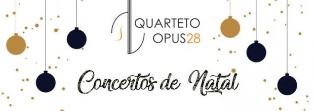 Quarteto Opus 28 | Concerto à La Carte: A Ceia de Natal