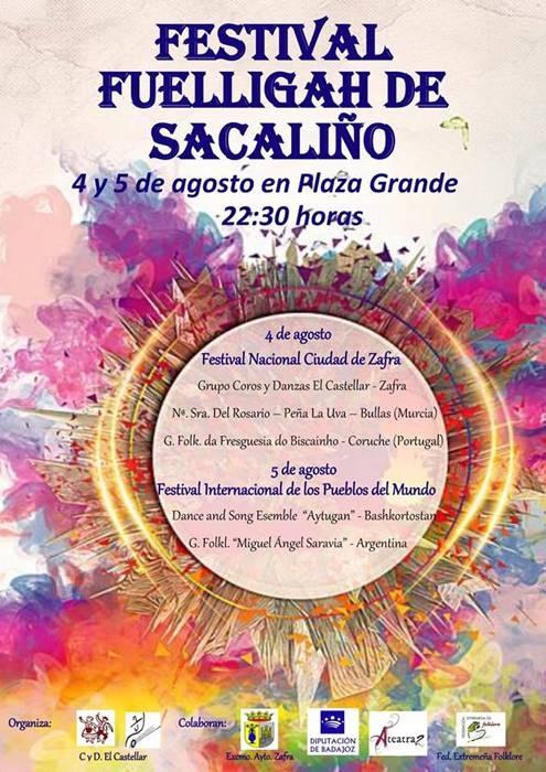 Festival 'FUÉLLIGAH DE SACALIÑO'    ZAFRA