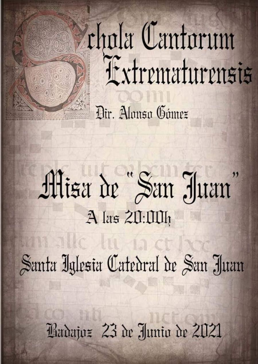 Actuación Schola Cantorum Extrematurensis