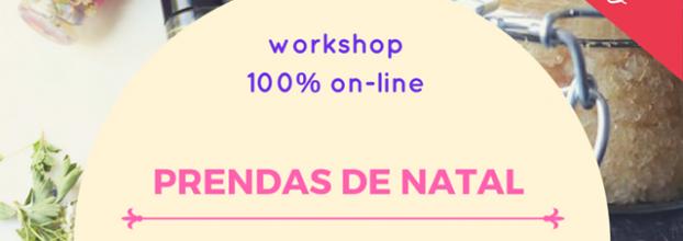 Workshop Prendas de Natal Naturais e Ecológicas