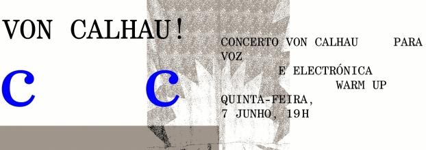 Concerto Von Calhau! para voz e electrónica