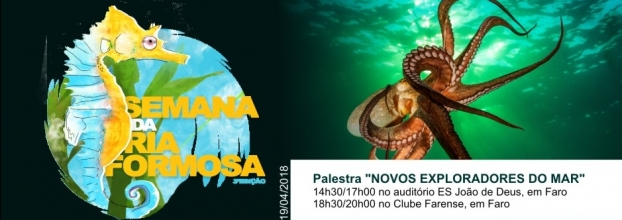 Palestra 'Novos Exploradores do Mar'