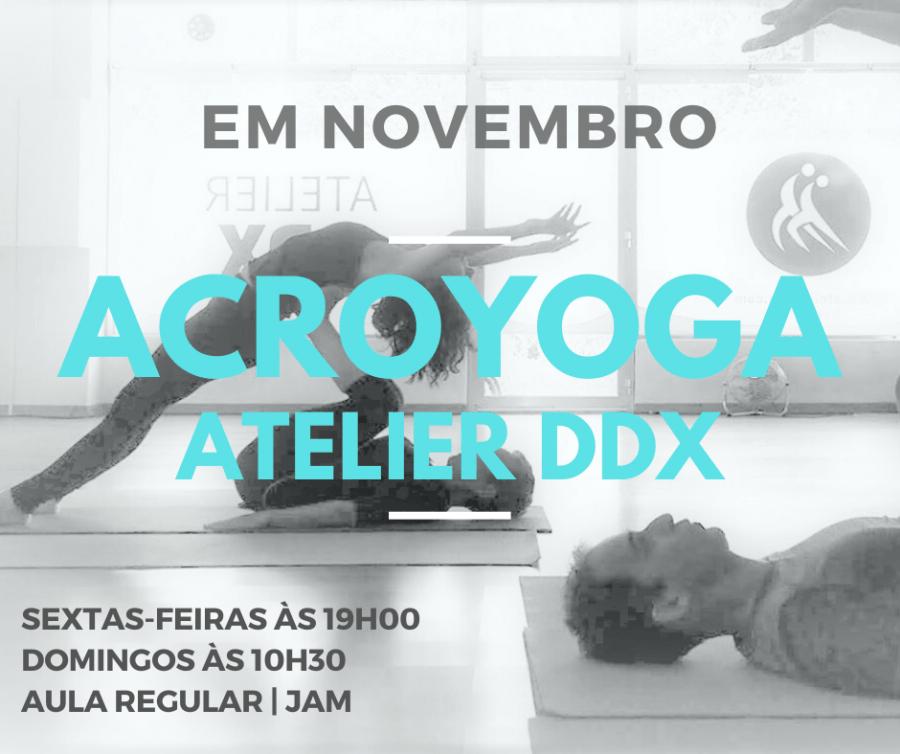 Acroyoga - Aula regular