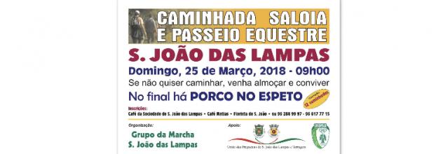 CAMINHADA SALOIA E PASSEIO EQUESTRE