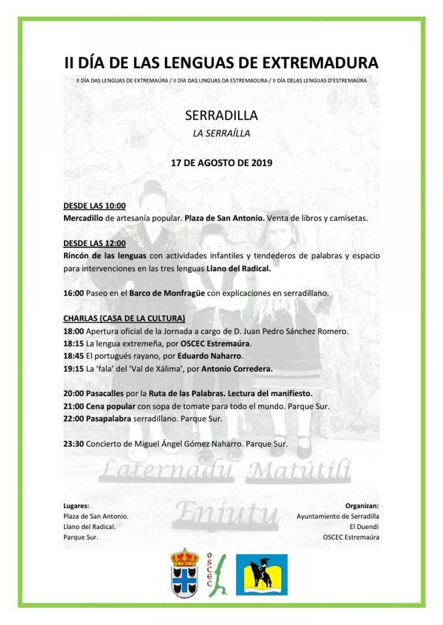 2º Día de las lenguas de Extremadura