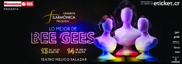 Lo mejor de Bee Gees. Orquesta Filarmínica de Costa Rica