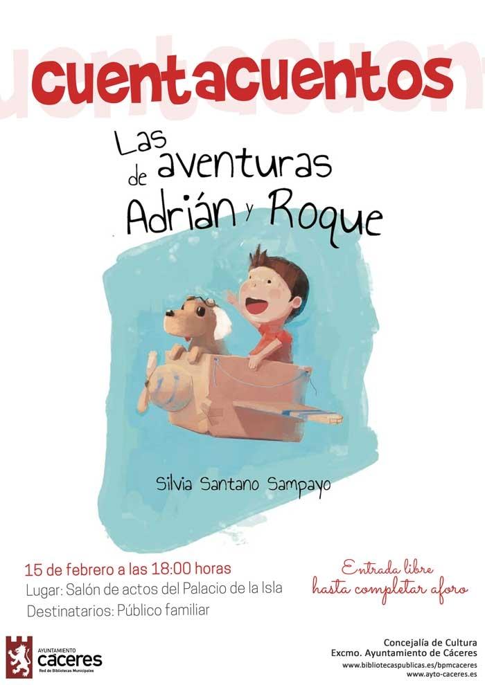 CUENTACUENTOS | Las Aventuras de Adrián y Roque