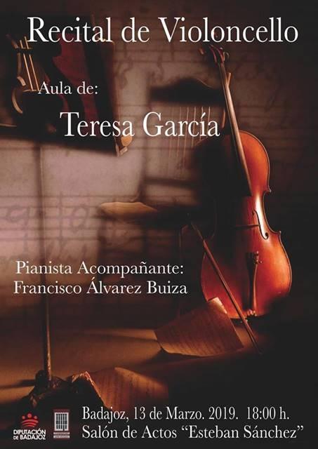 Recital de violoncello || Conservatorio Profesional de Música Juan Vázquez
