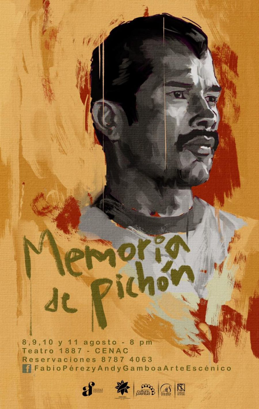 Memoria de Pichón. Fabio Pérez & Andy Gamboa. Arte escénico