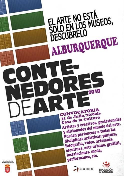 """Reunión informativa sobre el proyecto """"Contenedores de Arte""""    Alburquerque"""