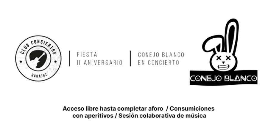 Conejo Blanco · II Aniversario CCB