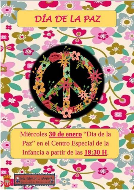 Día de la Paz en el Centro Especial de la Infancia || Alburquerque