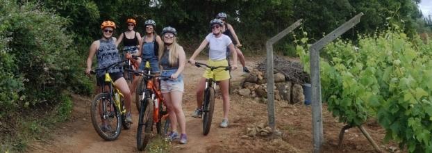 Wine Tasting Mountain Bike Tour