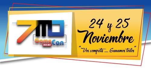 7ma edición. Game-Con 2018. Torneos, espectáculos y más