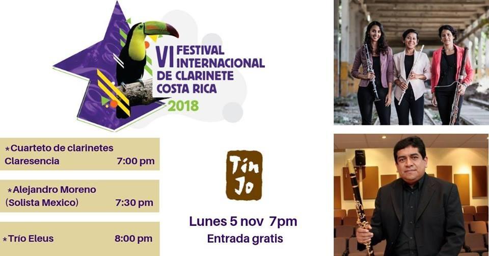 VI festival internacional de clarinete. Claresencia, Alejandro Moreno & Trío Eleus