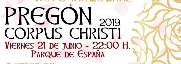 PREGÓN CORPUS CHRISTI 2019